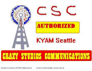 Crazy Studios Communications Logo